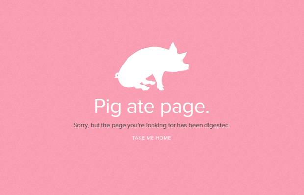 18 Smart and Amusing Ideas for a 404 Page