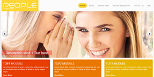 Joomla template #140 responsive template with many features.
